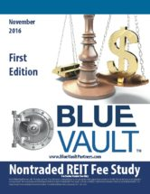 Icon of First Edition Nontraded REIT Fee Study November 2016 - WM