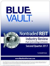 Icon of Nontraded REIT Review Q2 2017 - Full-Cycle Listings And Events WM