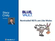 Icon of Nontraded REITs Are Like Mules - By Stacy Chitty (PDF)