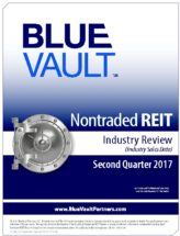 Icon of Nontraded REIT Review Q2 2017 - Industry Sales WM