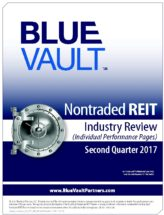 Icon of Capital Investment Q2 2017 Nontraded REIT Individual Performance Pages