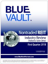 Icon of Nontraded REIT Review Q1 2018 - Industry Sales Data WM