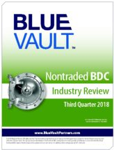 Icon of Cambridge Q3 2018 Full Nontraded BDC Review