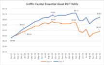 Icon of Griffin Capital EA REIT NAVs Thru 11 30 19