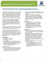 Icon of American-Realty-Capital-Healthcare-Trust-Full-Cycle-Summary
