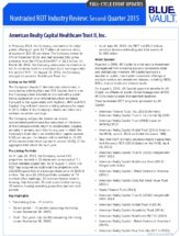 Icon of American-Realty-Capital-Healthcare-Trust-II-Full-Cycle-Summary