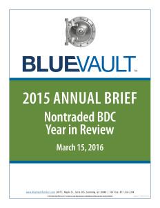 BV BDC Annual Brief 2015