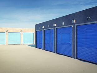 Outdoors storage units