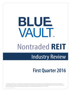 Nontraded REIT Industry Review Q1 2016