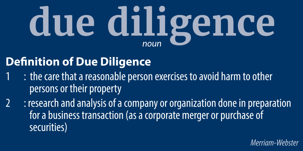 due_diligence_definition_hq