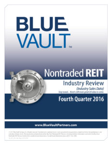 Nontraded REIT Review Q4 2016 - Sales Data Summary